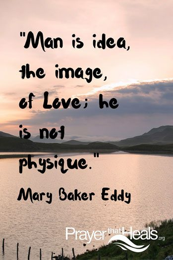 Man is idea, a quote by Mary Baker Eddy